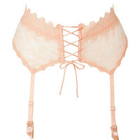 La Perla - Rose Donna Beatrice Garter Belt