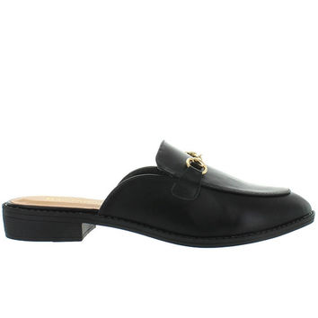 Wanted Cavallo - Black Mule Loafer