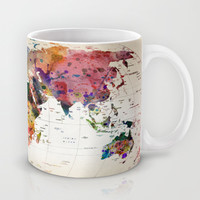 map Mug by Mark Ashkenazi