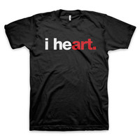 """i heart art"" T-Shirt"