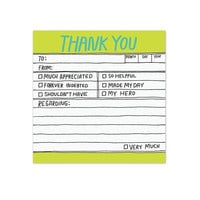 KNOCK KNOCK HAND-LETTERED THANK YOU STICK PAD