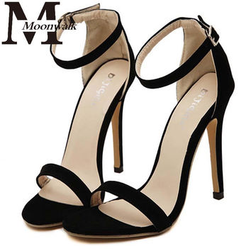 Women Party Sandals 2016 Summer Brand Elegant High Heel