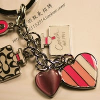The new couple Keychain love car key pendant chain Christmas gift = 1929736900