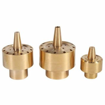 VONL8T 1/4' 1/2' 3/4'  Brass Column Style Fountain Nozzle Garden Sprinklers Pond Fountain Water Nozzle Sprinkler Spray Fireworks Water