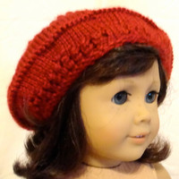 American Girl Doll Slouch Beret Hat