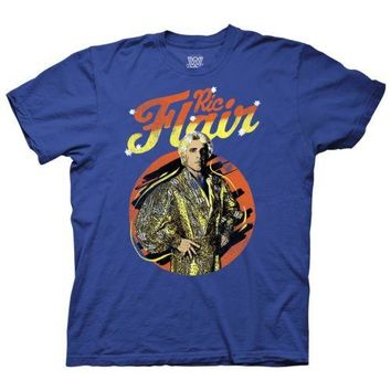 WWE Ric Flair Wrestling Licensed Adult T Shirt