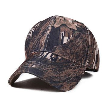 Mens Army Camo Cap Baseball Casquette Camouflage Hats