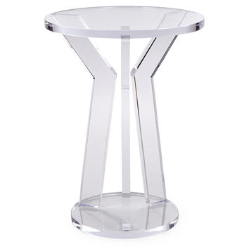 Acrylic Side Table, Acrylic / Lucite, Standard Side Tables