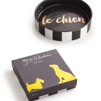 Soiree Whiskers Bowl le Chien