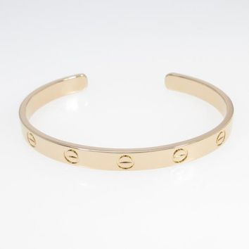 Authentic Cartier Love Open Bracelet #260-002-601-7242