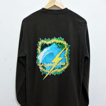 Rare LIGHTNING BOLT Hawaii Surf Longsleeved T-Shirt