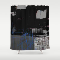 Tommy's Shower Curtain by Robin Maria Pedrero
