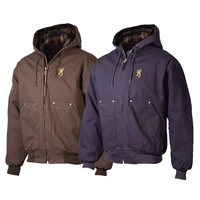 Browning Men's Hooded Cotton Canvas Jacket