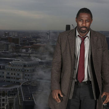 Luther Lawman of London Idris Elba Poster 11x17