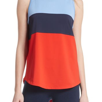 Tory Sport Colorblock Performance Tank | Nordstrom