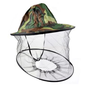 cycle zone Anti-mosquito Protection Mask Mesh Hat Camouflage Hood for Outdoor Activity