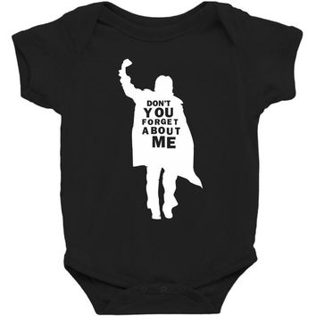 don't you forget about me 80's party music retro Baby Bodysuit