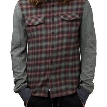 Rogue State Flannel Shirt Jacket