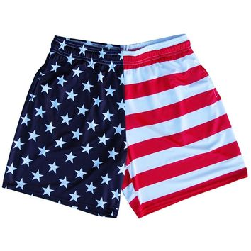 American Flag Jacks Athletic Shorts