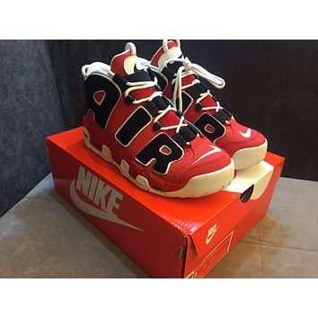 "Nike Air More Uptempo OG ""Asia Hoop Pack"" 415082-600 Size 36--45"