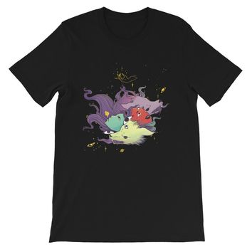 Witches And Wolves Unisex T-Shirt, Black