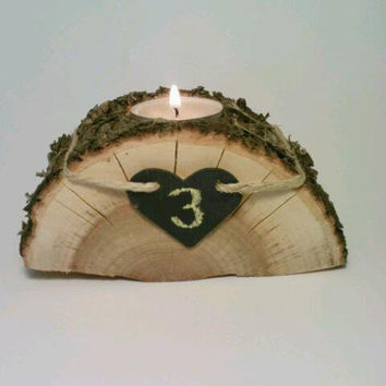Wedding Reception Table Number Centerpiece by DeerwoodCreekGifts