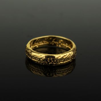 Lord of the jewelry Cool Simple Rings for Men Fans Fashion Movie Jewelry Ring