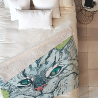 Geronimo Studio Cat Attack Fleece Throw Blanket