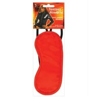 Erotic Toy Company Satin Fantasy Blindfold 2 Strap  Red