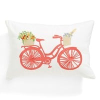 Nordstrom at Home 'Farmers Market' Embroidered Accent Pillow