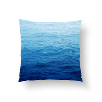 Caribbean Waters - Throw Pillow Cover