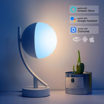 RGB LED Desk Lamps Smart Voice Control works with Alexa Google Home