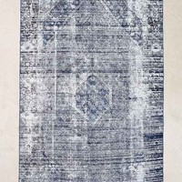 Vintage 5x8 Blue Overdyed Rug- Assorted One