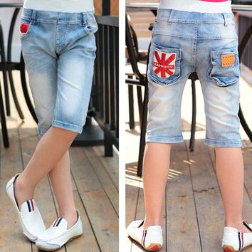 Summer Baby Boys Short Jeans Casual Infantil Denim Enfant Trousers Toddler Kids Clothes Cowboys Jersey Ropa Children Clothing