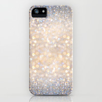 Glimmer of Light (Ombré Glitter Abstract) iPhone & iPod Case by Soaring Anchor Designs ⚓