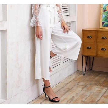 Chelsea Cut-Off Chic Trousers