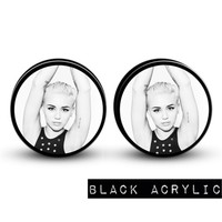 MILEY CYRUS Body Jewelry Plugs | Plug Club