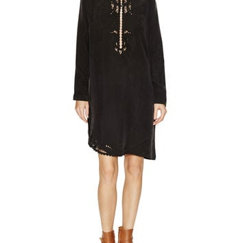 Caput Embroidered Shift Dress