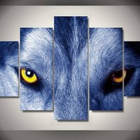 The Wolf Eyes Wall Art