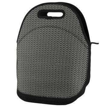 PEAPGQ9 Chainmail Lunch Tote Bag