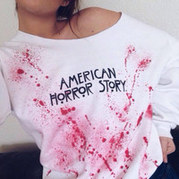 American Horror Story Sweatshirt AHS Fan Gear Women's Clothing Tumblr Fashion