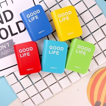 Cartoon Contact Lens Case GOOD LIFE Colored Contact Lenses box eyes contact lens container Lovely Travel kit box  Milk Bear