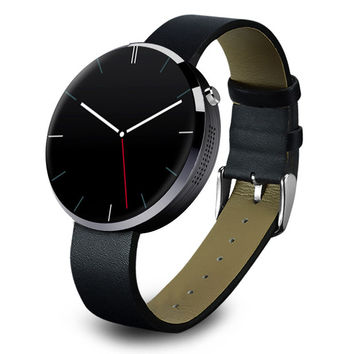 Multi-function Smart Watch with Heart Rate Monitor DM360   Jazz Black