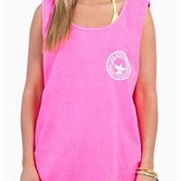 Southern Shirt Company Signature Tank Top in Pink