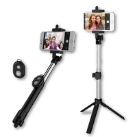 Remote Selfie Stick Tripod for iPhone/Android