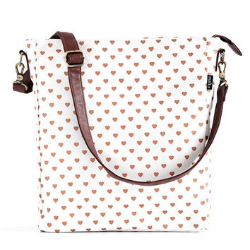 Hearts Copper Sling Crossbody