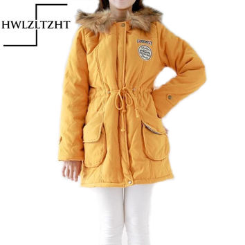 Europe Plus Size Winter Warm Women Jacket Sheepskin Coat jaqueta de couro feminina Jacket Coat Thick abrigos y chaquetas parka