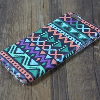 Tribal Native Ethnic Teen Geometric Tough Protective iPhone 6s Case iPhone 6 plus Snap Case 3D 205