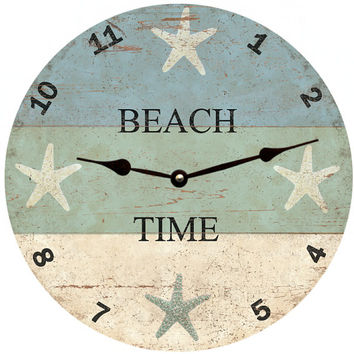 Starfish Beach Time Clock
