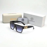 """Versace"" Fashion Personality Big Square Frame Sunglasses Glasses Collocation Accessories"